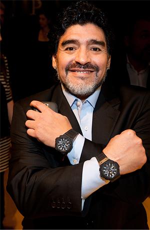 Diego Maradonna и часы hublot